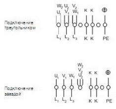 Схема подключения RVK 315Y4-A1