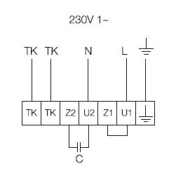 KD 315 XL1 Схема подключения
