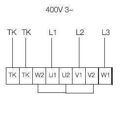 KD 400 XL3 Схема подключения